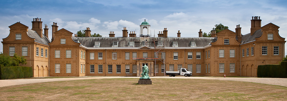 Renovation work at Stratfield Saye House, Hampshire, United Kingdom