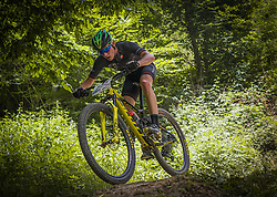 Auer Nal of Calcit Bike Team during the race of XCO National Championship of Slovenia 2021 on 27.06.2021 in Kamnik, Slovenia. Photo by Urban Meglič / Sportida