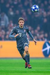 12-12-2018 NED: Champions League AFC Ajax - FC Bayern Munchen, Amsterdam<br /> Match day 6 Group E - Ajax - Bayern Munchen 3-3 / Thomas Muller #25 of Bayern Munich