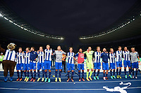 Schlussjubel Hertha<br /> Berlin, 18.09.2016, Fussball Bundesliga, Hertha BSC - FC Schalke 04<br /> Per Ciljan Skjelbreid , Rune Jarstein<br /> Norway only