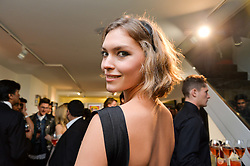 ARIZONA MUSE at a party to celebrate the launch of the Maddox Gallery at 9 Maddox Street, London on 3rd December 2015.