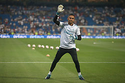 August 16, 2017 - Madrid, Spain - Keylor Navas, Real Madrid goalkeeper. Real Madrid defeated Barcelona 2-0 in the second leg of the Spanish Supercup football match at the Santiago Bernabeu stadium in Madrid, on August 16, 2017. (Credit Image: © Antonio Pozo/VW Pics via ZUMA Wire)