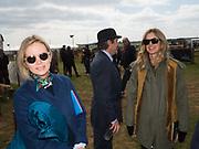 TRISTIA HARRISON; AMANDA BROOKS, Heythrop Point to Point, Cocklebarrow, 2 April 2017.