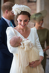 Prince Louis christening - 9 July 2018