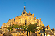 Mont Saint-Michel - Brittany - France .<br /> <br /> Visit our MEDIEVAL PHOTO COLLECTIONS for more   photos  to download or buy as prints https://funkystock.photoshelter.com/gallery-collection/Medieval-Middle-Ages-Historic-Places-Arcaeological-Sites-Pictures-Images-of/C0000B5ZA54_WD0s