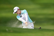 Eun-Hee Ji (KOR) hits from the trap on 2 during round 2 of the 2020 ANA Inspiration, Mission Hills C.C., Rancho Mirage, California, USA. 9/11/2020.<br /> Picture: Golffile | Ken Murray<br /> <br /> All photo usage must carry mandatory copyright credit (© Golffile | Ken Murray)