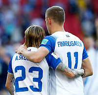 Ari Skulason (Iceland) and Ari Skulason (Iceland)<br /> Moscow 16-06-2018 Football FIFA World Cup Russia  2018 <br /> Argentina - Iceland / Argentina - Islanda<br /> Foto Matteo Ciambelli/Insidefoto
