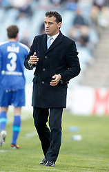 07.04.2012, Stadion Coliseum Alfonso Perez, Getafe, ESP, Primera Division, FC Getafe vs Sporting Gijon, 32. Spieltag, im Bild Getafe's coach Luis Garcia // during the football match of spanish 'primera divison' league, 32th round, between FC Getafe and Sporting Gijon at Coliseum Alfonso Perez stadium, Getafe, Spain on 2012/04/07. EXPA Pictures © 2012, PhotoCredit: EXPA/ Alterphotos/ Alvaro Hernandez..***** ATTENTION - OUT OF ESP and SUI *****