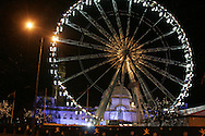 Scenes at the Cardiff Winter Wonderland outside City Hall in the centre of Cardiff.