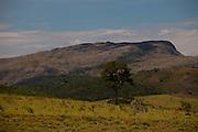Congonhas do Norte_MG, 25 de Fevereiro de 2010...BDI / Serra do Espinhaco...A Serra do Espinhaco foi considerada pela Unesco em 27 de junho de 2005 a setima reserva da biosfera brasileira, devido a sua grande diversidade de recursos naturais...Na foto, a vista da Serra do Espinhaco...Foto: LEO DRUMOND / NITRO