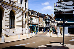 Street scene in Auxerre, France<br /> <br /> (c) Andrew Wilson | Edinburgh Elite media