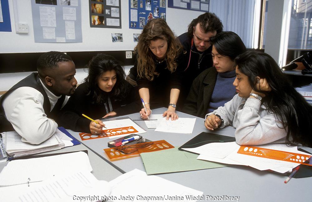 University of Westminster tutorial group.