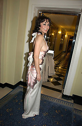 MARIE HELVIN at Respoke Bespoke in aid of the Rainforest Foundation held at Claridges, Brook Street, London on 18th October 2006.<br /><br />NON EXCLUSIVE - WORLD RIGHTS