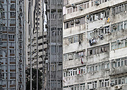 Office tower and apartments. Hong Kong, China, 2004