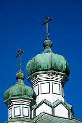 Historic Russian orthodox church in Hakodate Hokkaido Japan