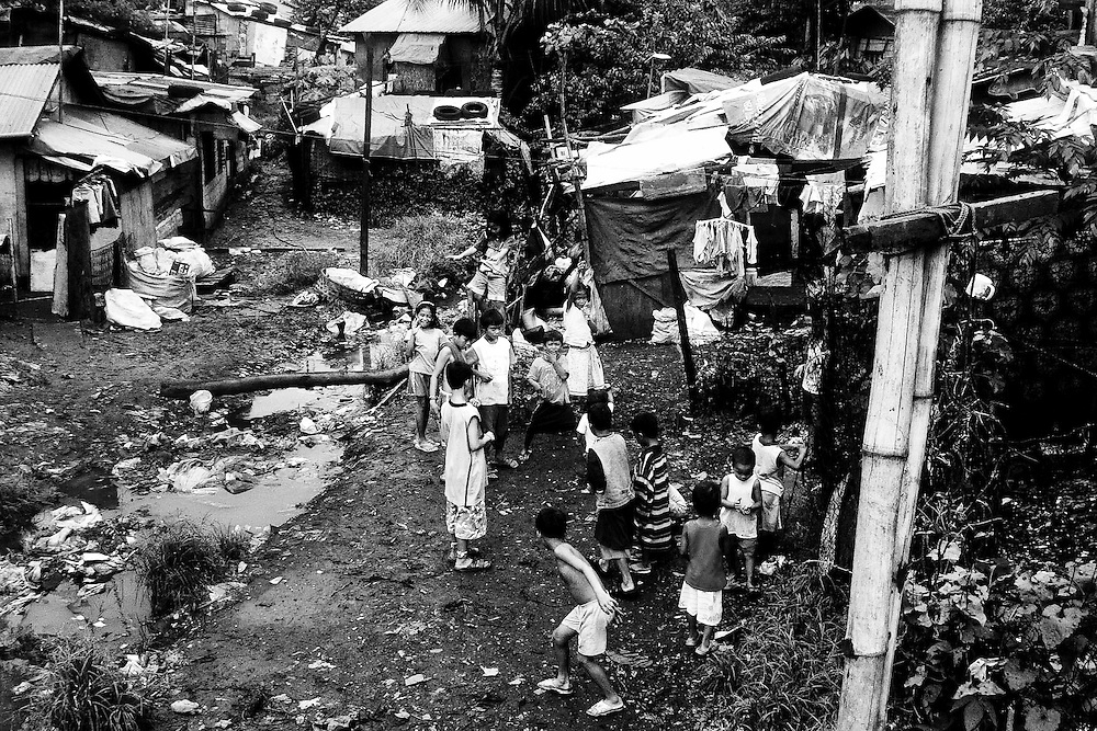The daily income of scavengers are under one dollar but almost all of them are big family.
