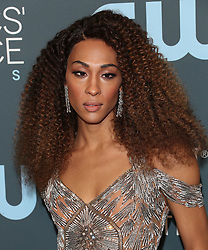 25th Annual Critic's Choice Awards - Los Angeles. 12 Jan 2020 Pictured: MJ Rodriguez. Photo credit: Jen Lowery / MEGA TheMegaAgency.com +1 888 505 6342