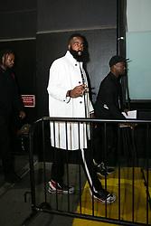 September 12, 2018 - New York, New York, United States - James Harden attends Calvin Klein show during New York Fashion Week on September 11, 2018 in New York City. (Credit Image: © Oleg Chebotarev/NurPhoto/ZUMA Press)