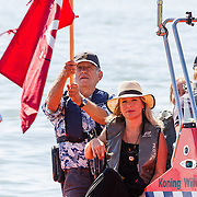 NLD/Muiden/20160825 - Perspresentatie deelnemers Expeditie Robinson 2016, Bartho Braat, Elle van Rijn