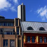 Fra Regjeringskvartalet i Oslo. Akersgata 59.