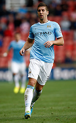Manchester City's Matija Nastasic - Photo mandatory by-line: Matt Bunn/JMP - Tel: Mobile: 07966 386802 14/09/2013 - SPORT - FOOTBALL -  Britannia Stadium - Stoke-On-Trent - Stoke City V Manchester City - Barclays Premier League