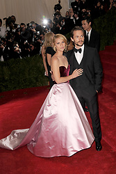 May 5, 2014 - New York, NY, USA - Claire Danes and Hugh Dancy attending the 'Charles James: Beyond Fashion' Costume Institute Gala at the Metropolitan Museum of Art on May 5, 2014 in New York City  (Credit Image: © Kristin Callahan - Ace Pictures/Ace Pictures/ZUMAPRESS.com)