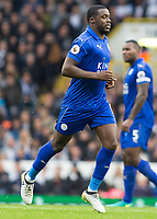 Football - 2016 / 2017 Premier League - Tottenham Hotspur vs. Leicester City<br /> <br /> Jeffrey Schlupp of Leicester City at White Hart Lane.<br /> <br /> COLORSPORT/DANIEL BEARHAM