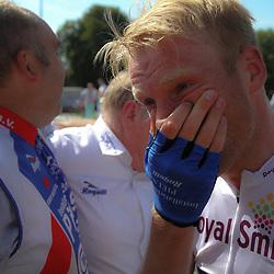 WIELRENNEN, Hoofddorp, Olympias tour Berden de Vries (Gieterveen/CT Jo Piels) wint het eindklassement van Nederlands oudste etappekoers.