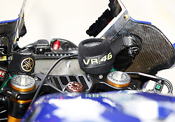 16.05.2015, Circuit, Le Mans, FRA, MotoGP, Grand Prix von Frankreich, Qualifying, im Bild Cockpit von 46 Valentino Rossi (ITA) // during the Qualifying for MotoGP Monster Energy France Grand Prix at the Circuit in Le Mans, France on 2015/05/16. EXPA Pictures © 2015, PhotoCredit: EXPA/ Eibner-Pressefoto/ Stiefel<br /> <br /> *****ATTENTION - OUT of GER*****