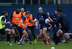 November 20, 2018 - Rome, Italy - Rugby Italy training - Cattolica Test Match.Johan Meyer at Giulio Onesti Sport Center in Rome, Italy on November 20, 2018. (Credit Image: © Matteo Ciambelli/NurPhoto via ZUMA Press)