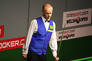 Peter Ebdon of England. Welsh open snooker 2010 at the Newport Centre, Newport, South Wales, day 1 on Mon 25th Jan 2010.   pic by  Andrew Orchard  , Andrew Orchard sports photography,