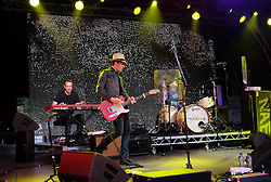 Party At The Palace, Linlithgow, Scotland, Saturday 13th August 2016<br /> <br /> The Fratellis perform on the main stage<br /> <br /> (c) Alex Todd | Edinburgh Elite media