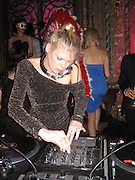 **EXCLUSIVE**.Alexandra Richards Dj..YSL, Yves Saint Laurent Perfume Launch party..New York, NY, USA..Thursday, October 29, 2009..Photo By Celebrityvibe.com.To license this image please call (212) 410 5354; or Email: celebrityvibe@gmail.com ; .website: www.celebrityvibe.com.