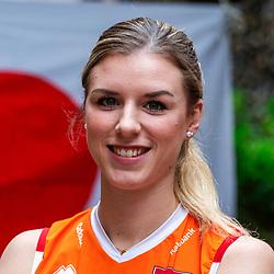 13-10-2018 JPN: World Championship Volleyball Women day 14, Nagoya<br /> Portraits Dutch Volleybal Team - Britt Bongaerts #12 of Netherlands