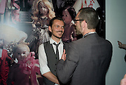 MATTHEW WILLIAMSON, The private view of exhibition 'The House of Viktor & Rolf', at The Barbican Gallery.  London.  June 17 2008. *** Local Caption *** -DO NOT ARCHIVE-© Copyright Photograph by Dafydd Jones. 248 Clapham Rd. London SW9 0PZ. Tel 0207 820 0771. www.dafjones.com.