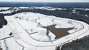 Queen's Cup Steeplechase property in the snow