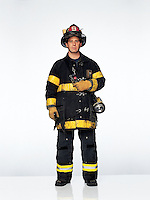 """Firefighter, Ladder 9, FDNY<br /> <br /> A 23-year veteran of the department, Wernick had responded to the Trade Center bombing in 1993 and was in the first rush of firefighters to arrive on September 11. <br /> <br /> """"We were on the 27th floor of the north tower when the building shook - the south tower collapsing. When terrorists attack, they often do something after rescuers arrive, so we thought another plane had hit. In '93, you always felt more [bombs] were going to go off. The fear of what will happen next is a tremendous fear. We didn't run from the 27th floor, we just filtered down. Seconds after I got to the street the tower fell and I was blown off my feet. I was choking. Some guys picked me up. I went to the hospital. My lungs were filled with all that stuff. Three guys in our company did not make it out."""""""