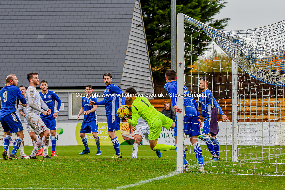 Martin Horsell save from Truro city 24/10/2020