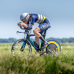 EMMEN (NED) June 16: <br />CYCLING <br />Dutch Nationals Time Trail men U23 Boris Romers