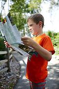Alex at the Green Bay Botanical Garden