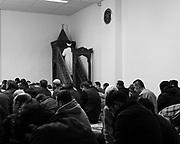 Ghent, Belgium, 2 dec 2016, Mosque at the Afrikalaan