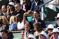 Patrick MOURATOGLOU coach de Serena WILLIAMS  - 01.06.2015 - Jour 9 - Roland Garros 2015<br /> Photo : Nolwenn Le Gouic / Icon Sport