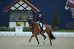 Bredow-Werndl, Jessica (GER) Zaire<br /> Hagen - Horses and Dreams 2016<br /> © Stefan Lafrentz