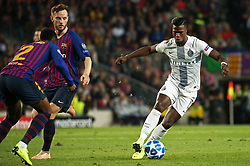 October 24, 2018 - Barcelona, Spain - Keita Balde during the match between FC Barcelona and Inter, corresponding to the week 3 of the group stage of the UEFA Champions Leage, played at the Camp Nou Stadium, on 24th October 2018, in Barcelona, Spain. (Credit Image: © Joan Valls/NurPhoto via ZUMA Press)