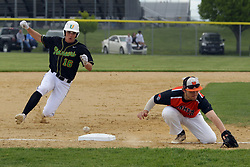 10 May 2019:  16 & 16 UHigh Pioneers at Normal Community Ironmen at NCHS baseball diamond in Normal Il<br /> <br /> (Photo by Alan Look)