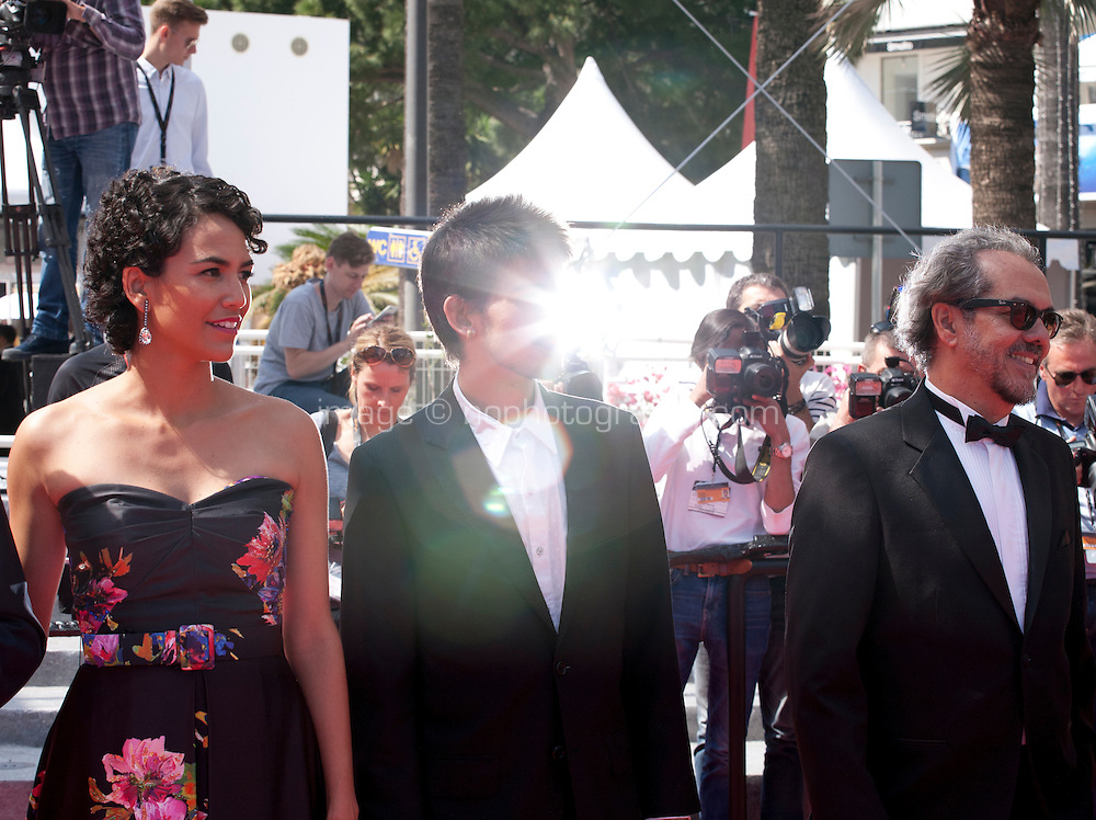 Barbara Colen at the gala screening for the film Aquarius at the 69th Cannes Film Festival, Tuesday 17th May 2016, Cannes, France. Photography: Doreen Kennedy