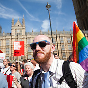 The Same Sex Marriage bill had been passed in the House of Lords. London Gay Chorus and supporters of the bill celebrate outside the House of Lords. The campaign for the bill has lasted decades. Summary of the Marriage (Same Sex Couples) Bill 2012-13 to 2013-14<br /> A Bill to make provision for the marriage of same sex couples in England and Wales, about gender change by married persons and civil partners, about consular functions in relation to marriage, for the marriage of armed forces personnel overseas, and for connected purposes.