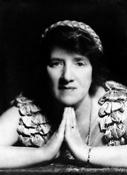 Dr Marie Stopes the pioneer of birth control. She founded the world's first birth control clinic in Holloway, London in 1921.