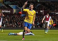 Aston Villa v Arsenal 130114