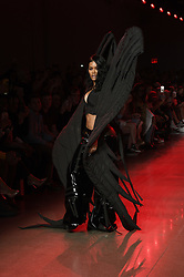 September 12, 2018 - New York, New York, U.S - September, 2018 - New York, New York  U.S. - TEYANA TAYLOR on the runway at the NAMILIA S/S 2019 RTW show during New York Fashion Week 2018.  (Credit image (c) Theano Nikitas/ZUMA Wire/ZUMAPRESS.com (Credit Image: © Theano Nikitas/ZUMA Wire)